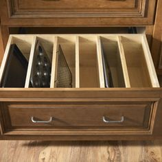 Good Storage Idea for Pots and Pans