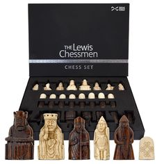 Amazon.com: The Isle Of Lewis Chessmen The Official Set: Toys & Games