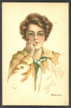 KC083-a-s-PICKWICK-Portrait-de-FEMME-BEAUTIFUL-LADY-GLAMOUR