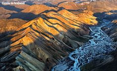 See aerial photos of Iceland. Icelandic nature is incredible beautiful and seeing it from an airplane or helicopter gives you a stunning viewpoint. Check out this photo gallery of Iceland taken from the air.
