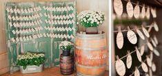 Maggie Harkov Photography via 100 Layer Cake (left); m three studio via Ruffled (right) #vintage #wedding
