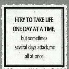 One day at a time....#EhlersDanlosSyndrome Awareness #EDS
