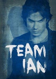 Repin if you're Team Ian Somerhalder!