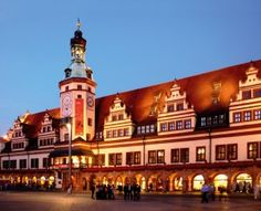 Leipzig city of heroes and city of music.Germany.