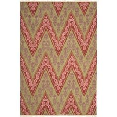 Safavieh David Easton Mauve Pink Outdoor Area Rug Rug Size: