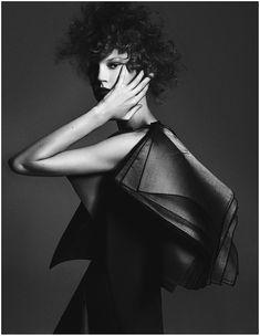 Photo Elisabeth Erm by Driu & Tiago for Vogue Ukraine December 2014