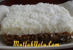 Kıbrıs Tatlısı Tarifi ~ Mutfak Yolu Vanilla Cake, Desserts, Food, Turkish Language, Tailgate Desserts, Deserts, Essen, Postres, Meals