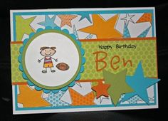 Purely Stamping: A Little Boy's Birthday Card...