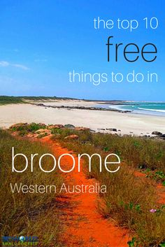 Having fallen madly in love with this remote town, and unable to drag ourselves away, we set about discovering the top 10 free things to do in Broome. Places To Travel, Places To See, Travel Destinations, Holiday Destinations, Vacation Places, Holiday Places, Vacations, Visit Australia, Australia Travel