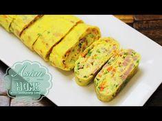 Gyeran Mari Korean Egg Roll Korean Rolled Omelet Banchan