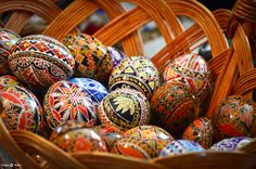 Easter eggs in Maramureș, Romania Easter Art, Easter Eggs, Visit Romania, Faberge Eggs, Egg Art, Homeland, Nature Photography, Blood, Decorations