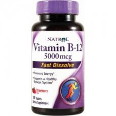 Vitamine B-12 5000mcg Natrol