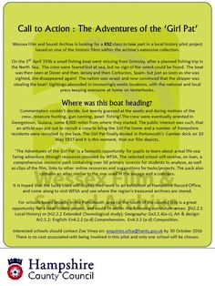 The Adventures of the Girl Pat: An exciting local history project for Hampshire schools. For more information, or to apply please contact enquiries. Small Fishing Boats, History Projects, Call To Action, Local History, Hampshire, Schools, How To Apply, Adventure, Hampshire Pig
