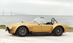 Carroll Shelby's Shelby Cobra 427 Roadster.  This car outperformed Ferrari in the 1960's.