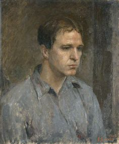 raymond james coxon(1896–1997), henry moore (1898–1986), 1924. oil on canvas, 61.8 x 51.3 cm. manchester city galleries, uk http://www.bbc.co.uk/arts/yourpaintings/paintings/henry-moore-18981986-204763