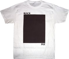 Black Fax tee from Cool Try