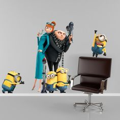 Despicable Me 2 Minion Full Colour Wall by WallSmartDesigns, £11.99