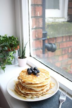 The ULTIMATE Vegan Blueberry Pancakes, American Style. Full recipe on Witch Cake. Vegan Blueberry, Blueberry Pancakes, Witch Cake, American, Breakfast, Recipes, Food, Style, Blue Berry Pancakes