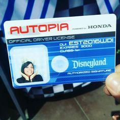Finally got a Disneyland drivers license! by itsjess011