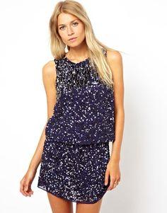 Image 1 ofMango All Over Embellished Dress $213