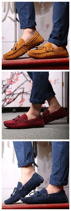 Get a pair of this super comfortable men's suede boat shoes to wear it everyday to school. Click to share your homecoming great deal from Lightinthebox and 100% get FREE GIFT until 31th Aug.