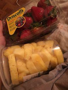 Strab & pineapple my fav