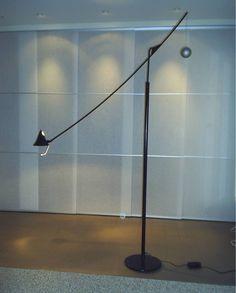 Stalen eetkamerlamp met contragewicht verstelbaar in verschillende standen