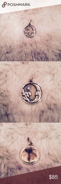James Avery retired moon and stars charm James Avery retired moon and stars charm, beautiful! No defects, perfect condition. James Avery Jewelry