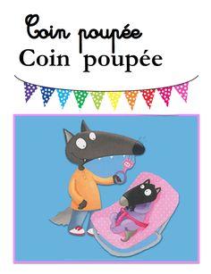 Coin poupée Illustration Éléonore Thuillier Engineering Science, Petite Section, Edd, Etiquette, Montessori, Back To School, Preschool, Classroom, Animation