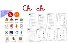 ¡Hola!  Hoy seguimos compartiendo material de lectoescritura. Esta vez venimos con el grupo de letras CH. Puedes descargar las letras anteriores pulsando [AQUÍ]. Los materiales son los siguientes:…