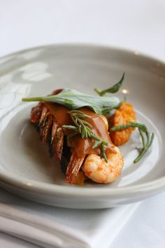 Prawns & Tomato - Autumn in Eleonore's Restaurant
