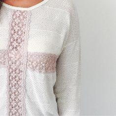 Elodie Beautiful Top with lace  Elodie Tops Tees - Long Sleeve