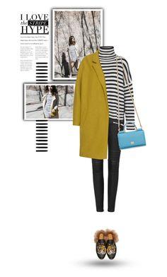 """Oversized Street Style"" by youaresofashion ❤ liked on Polyvore featuring Samsøe & Samsøe, Dolce&Gabbana, Gucci, gucci and oversizedcoats"