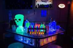 Bar fit for a king...well...a dead one at least. Something wicKED this way comes....: The wicKED weeKEnD Halloween Party of 2014