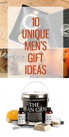 Unique Men's gift ideas!