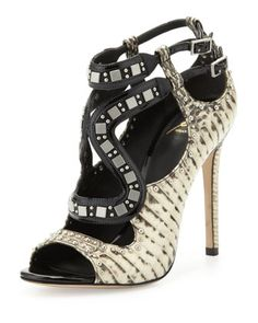 Lavela Studded Snake Sandal by: B Brian Atwood