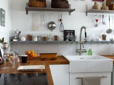 French Kitchen - campagne décoration