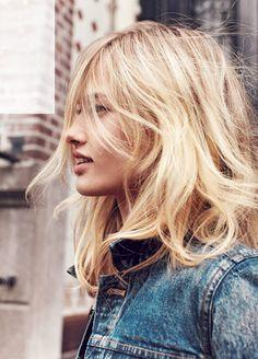 New trend - The mid-lenght messy haircut - Nouvelle tendance - La coupe mi-longue ébouriffée - Blond hair - Blonde