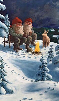 Christmas card from Sweden
