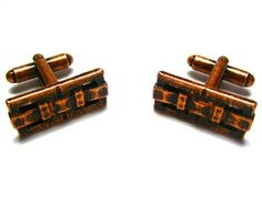 Classic Copper Buckle Formal Cufflinks - Wedding Cufflinks - Cufflinks