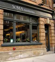Soma cioccolateria a Toronto Toronto Vacation, Toronto Travel, Building Front, Dreamy Photography, Cafe Bistro, Alaska, Shop Fronts, Toronto Canada, Canada Travel