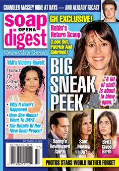 Soap Opera Digest  Magazine - Buy, Subscribe, Download and Read Soap Opera Digest on your iPad, iPhone, iPod Touch, Android and on the web only through Magzter