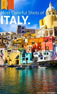 15 Most Colorful Shots of Italy #Italy
