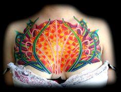 heart chakra tattoo