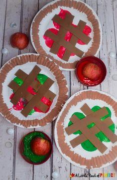 Preschool Apple Theme, Fall Preschool Activities, Kindergarten Crafts, Daycare Crafts, Classroom Crafts, Toddler Crafts, Apple Theme Classroom, Preschool Art Lessons, Preschool Apples