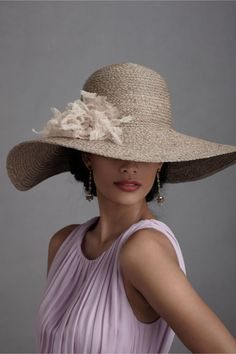 Tranquil Day Hat--perfect for the mid-day sun  #candigardenparty