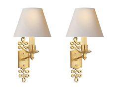 Pair of Visual Comfort Alexa Hampton Ginger Decorative Wall Lights | The  Local Vault