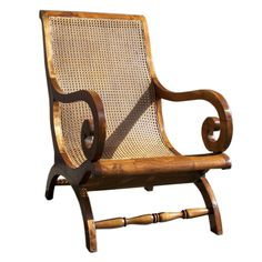 West Indies Campeachy Chair   From a unique collection of antique and modern armchairs at https://www.1stdibs.com/furniture/seating/armchairs/