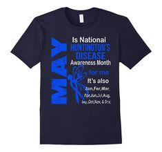 Huntington Disease, Mens Tops, T Shirt, Supreme T Shirt, Tee Shirt, Tee