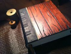 Grand Grimoire Wood and Leather Journal / by LeatherBoundGift, $349.00